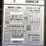 三郷駅前に医療モール+賃貸アパートができるらしい