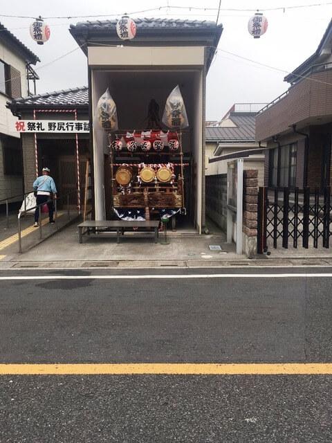 吉川神社の八坂祭りにいってきました