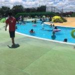 吉川市民プールで遊んできたよ