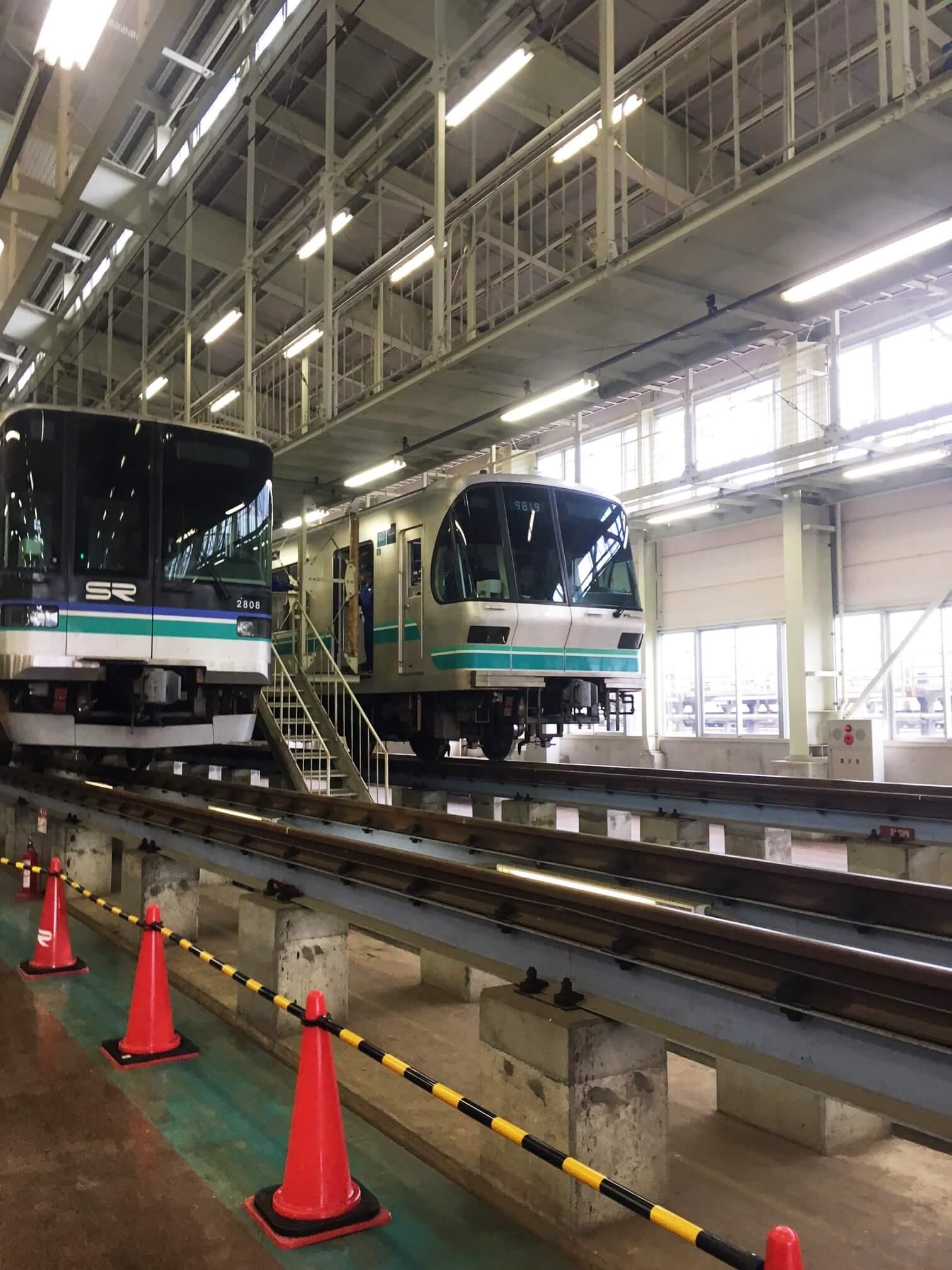 第二回浦和美園まつり&花火大会にいって埼玉高速鉄道車両基地をみてきたよ!