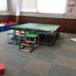 早稲田児童センターにはトランポリンがあるよ!