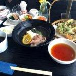 自然派レストラン蕎麦旬で竹膳を食べてきたよ!
