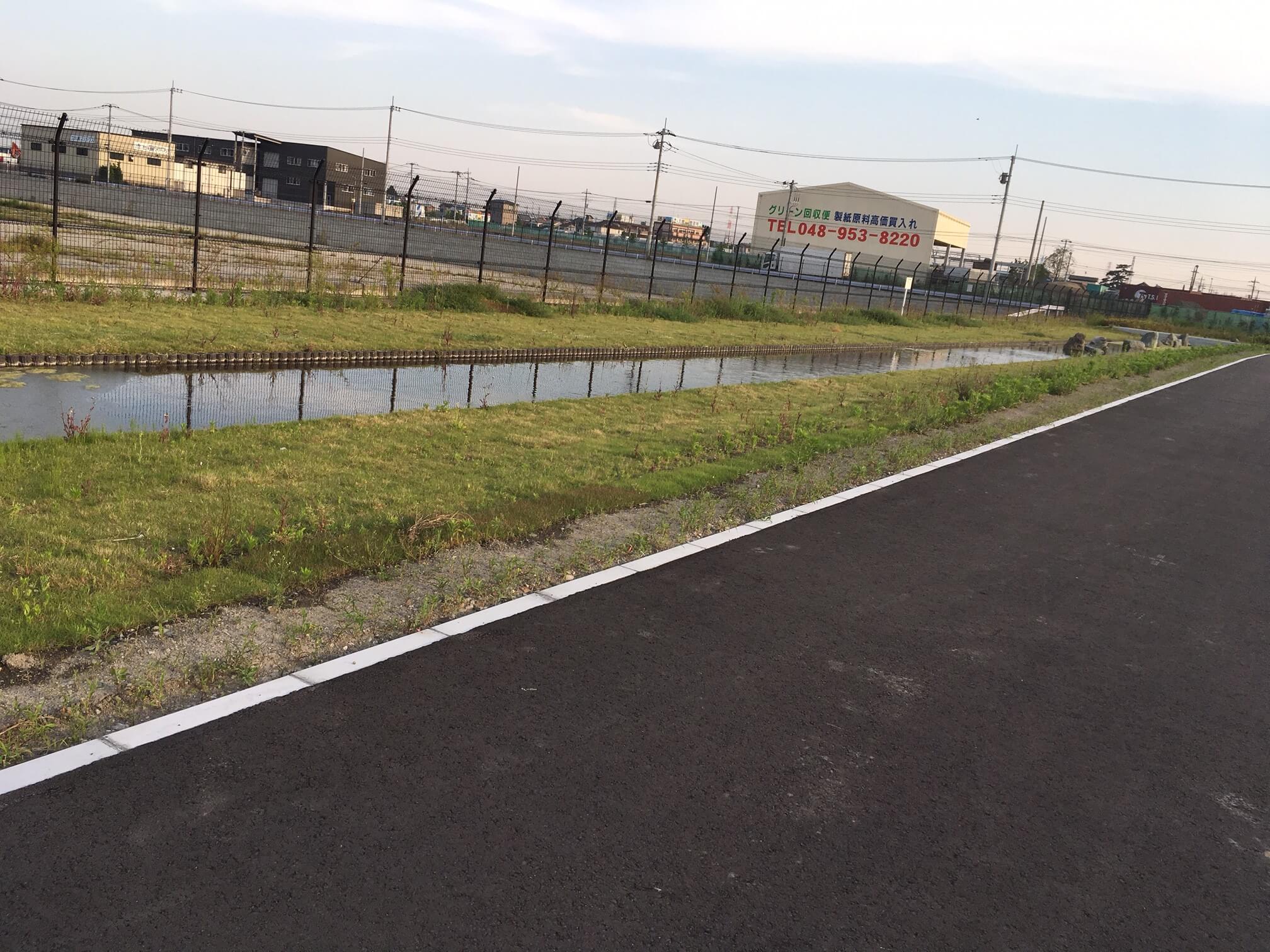 三郷流通団地内に新しく公園ができてたよ!(みどり公園)