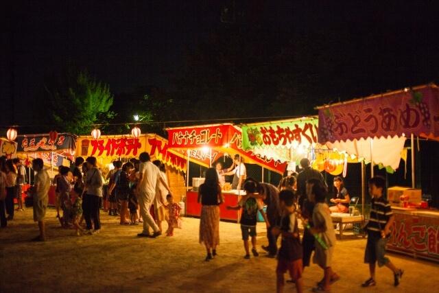 吉川八坂祭りが開催-2017-