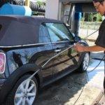 メガガーデン八潮では車内清掃機が無料で利用できます