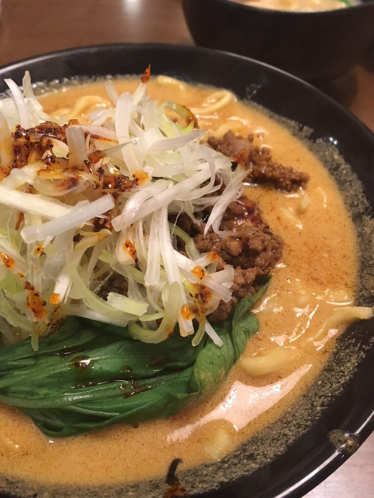 幸房にある横浜家系ラーメン誠家 三郷店さんで坦々麺を食べてきました!
